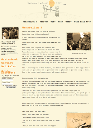 Voorbeeld WordPress Website
