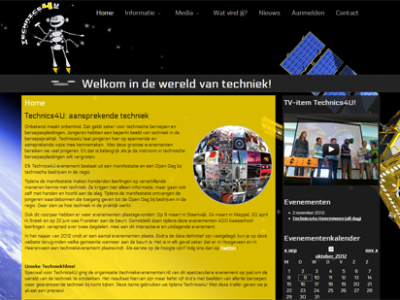 Website voor Technics4U