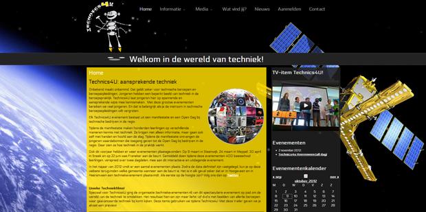 Website voor Technics4U