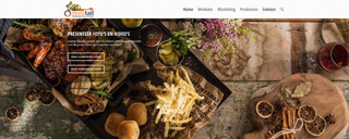 Demo website my restaurant